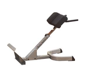 "Body Solid 2"" X 3"" 45 Degree Back Hyperextension"