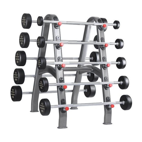 Element Fitness Commercial Rubber Barbell Set