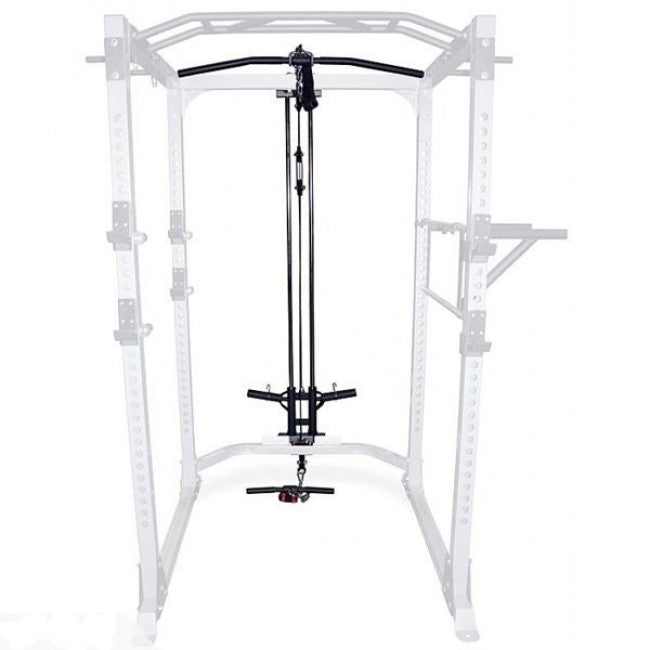 Fit505 Ultra Power Rack Lat Pull-Down Attachment Add-On
