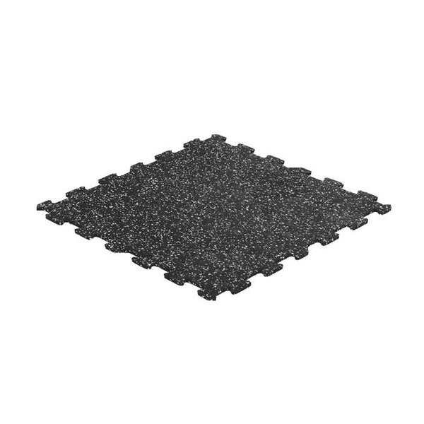 "Gorilla Rubber Flooring - 8mm 24"" x 24"" - Interlocking Tile w/Speckle - V2"