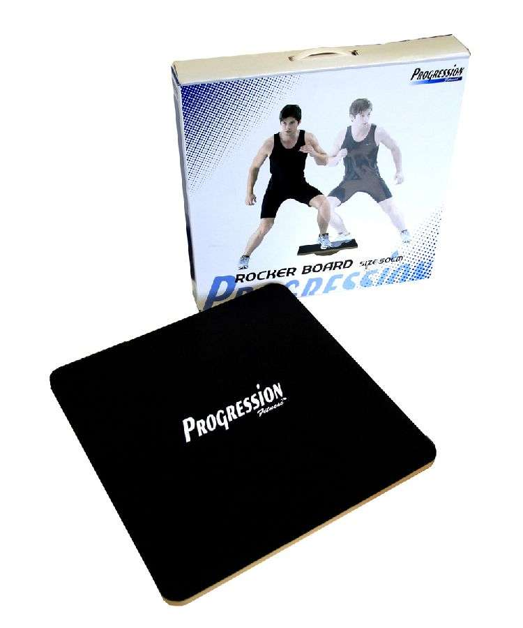 Progression Fitness Square Rocker Board