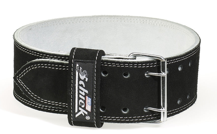 Schiek Double Prong Leather Competition Power Belt