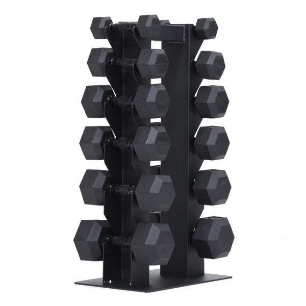 Xtreme Monkey Vertical Dumbbell Rack with 6 Dumbbell Pairs