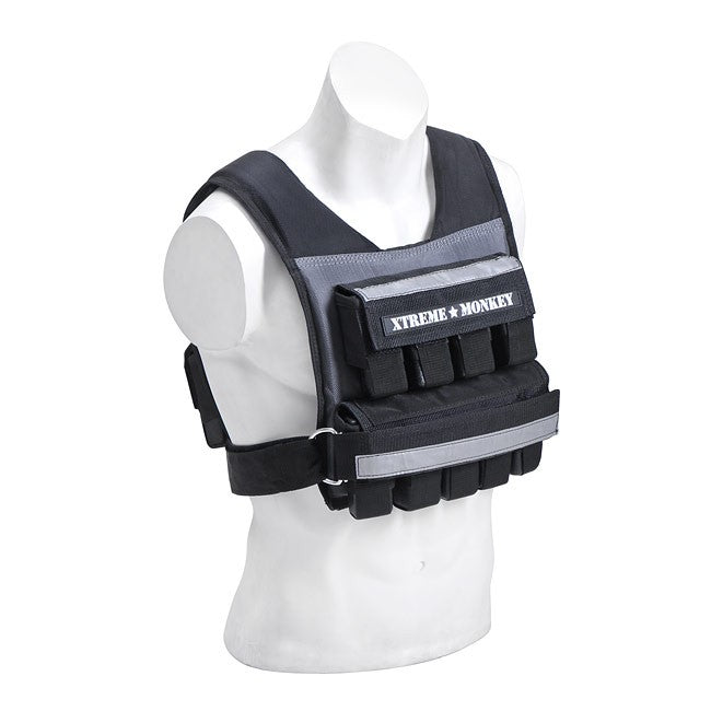 Xtreme Monkey 45lb Commercial Adjustable  Weighted Vest