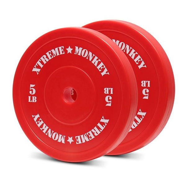 XM Fitness 5lbs Olympic Technique Plates