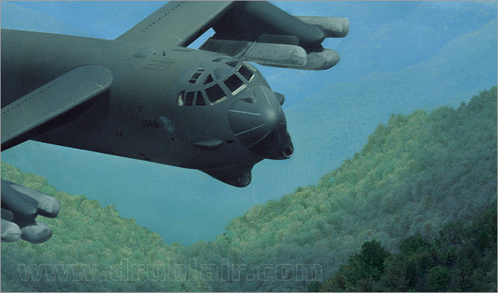 "B-52H /""Buff/"" /""Mountain Fortress/"" Dru Blair Signed Print"