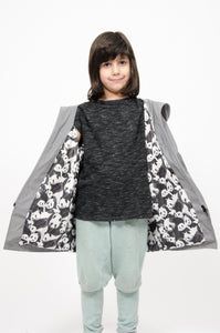 Panda reflective raincoat