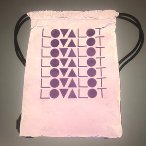 Purple Reflective Bag
