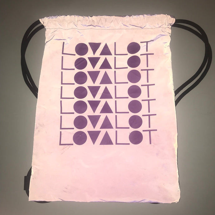 Reflective Purple Bag