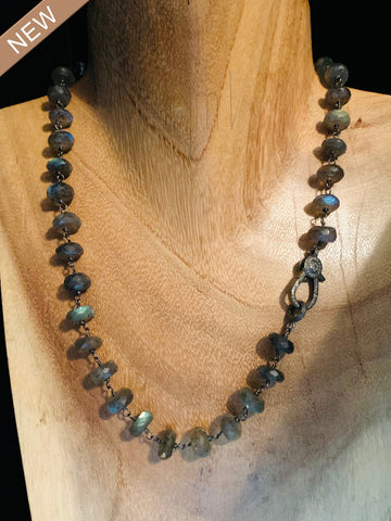 Amazing and Mesmerizing Lavenderite Chain