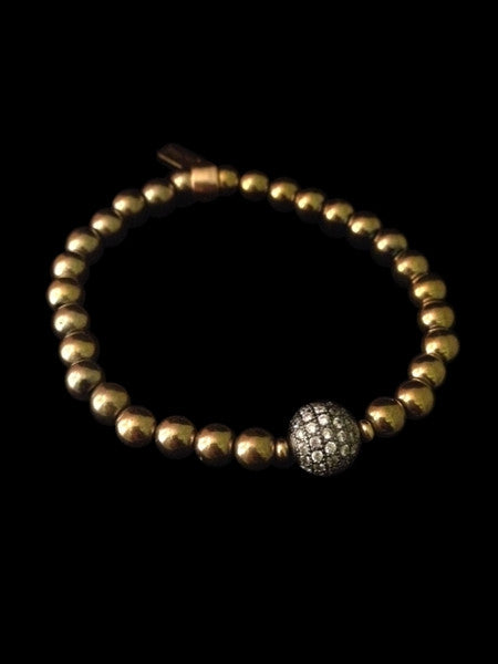 Pyrite Bracelet and Crystal Ball