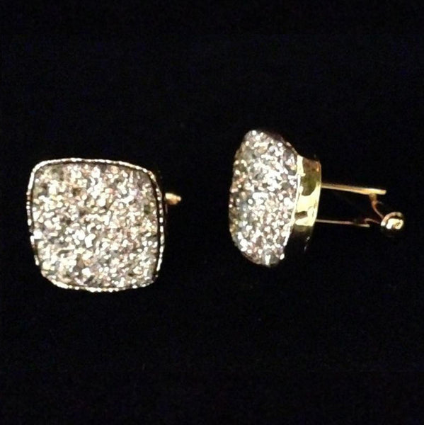 Men's Cufflinks Square Sparkle