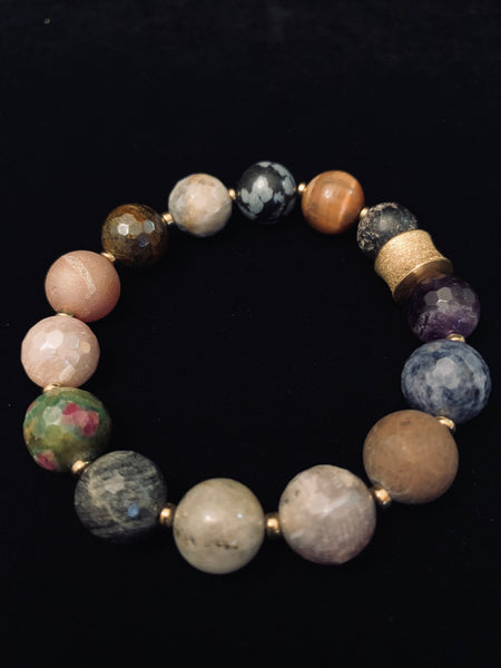 Medium Multigemstone Bracelet