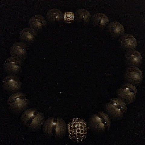 Men's Matte Onyx with Black Diamond