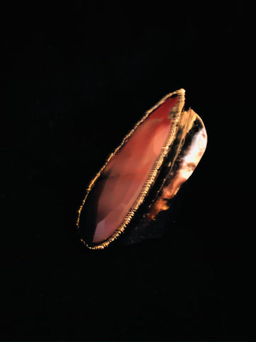 Red Jasper Staement Ring