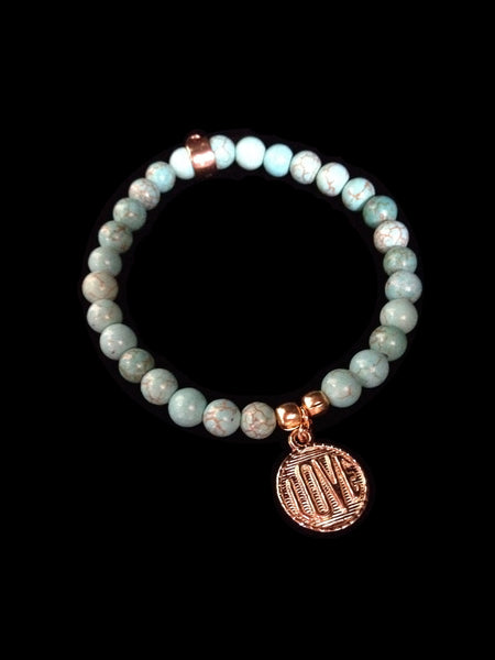 Aquamarine Love Bracelet