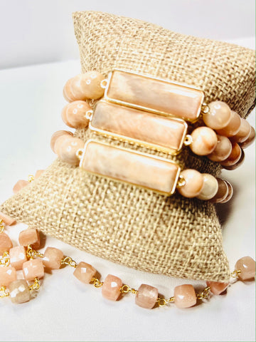 On sale Sunstone bracelets