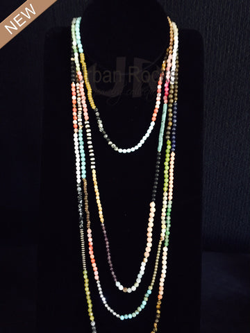 Tinie Multi Gemstone Necklaces