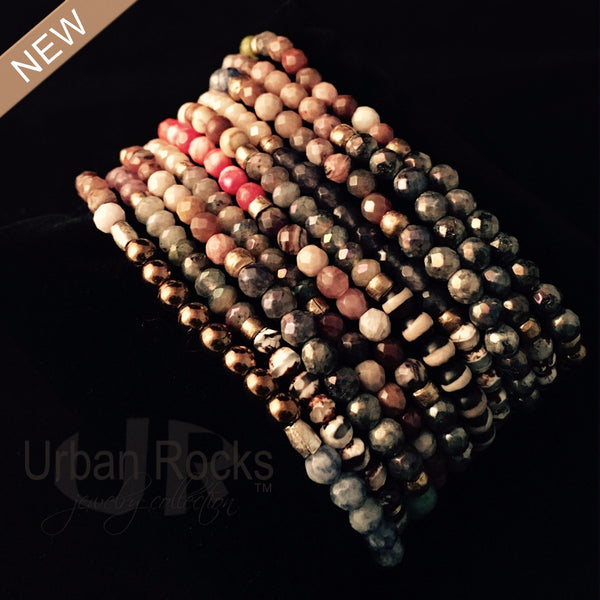 "Adorable ""tinies"" Multi-gemstone Bracelet"