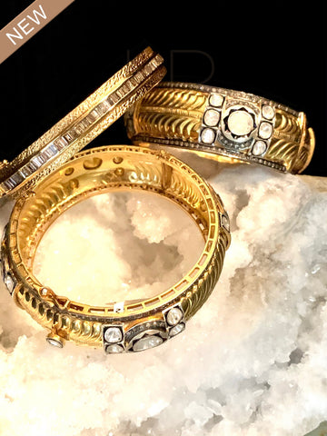 Small Diamond Bangles