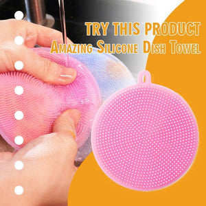 (50% OFF)Amazing Silicone Dish Towel