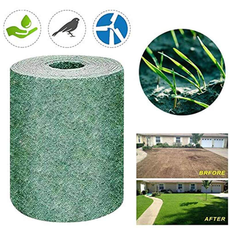 (60% OFF)New Biodegradable Grass Seed Mat