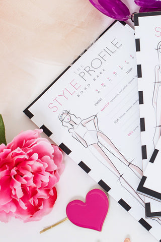 The Style Profile | Outfit Planning Notepad
