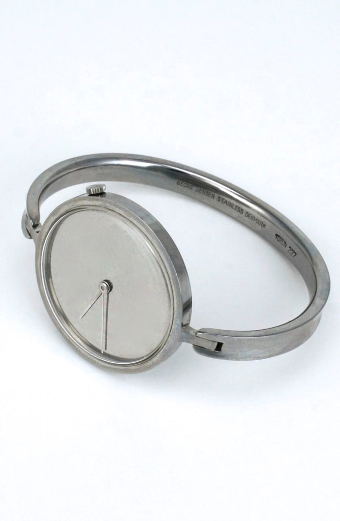 Georg Jensen Vivianna stainless steel manual watch - design 227 Torun
