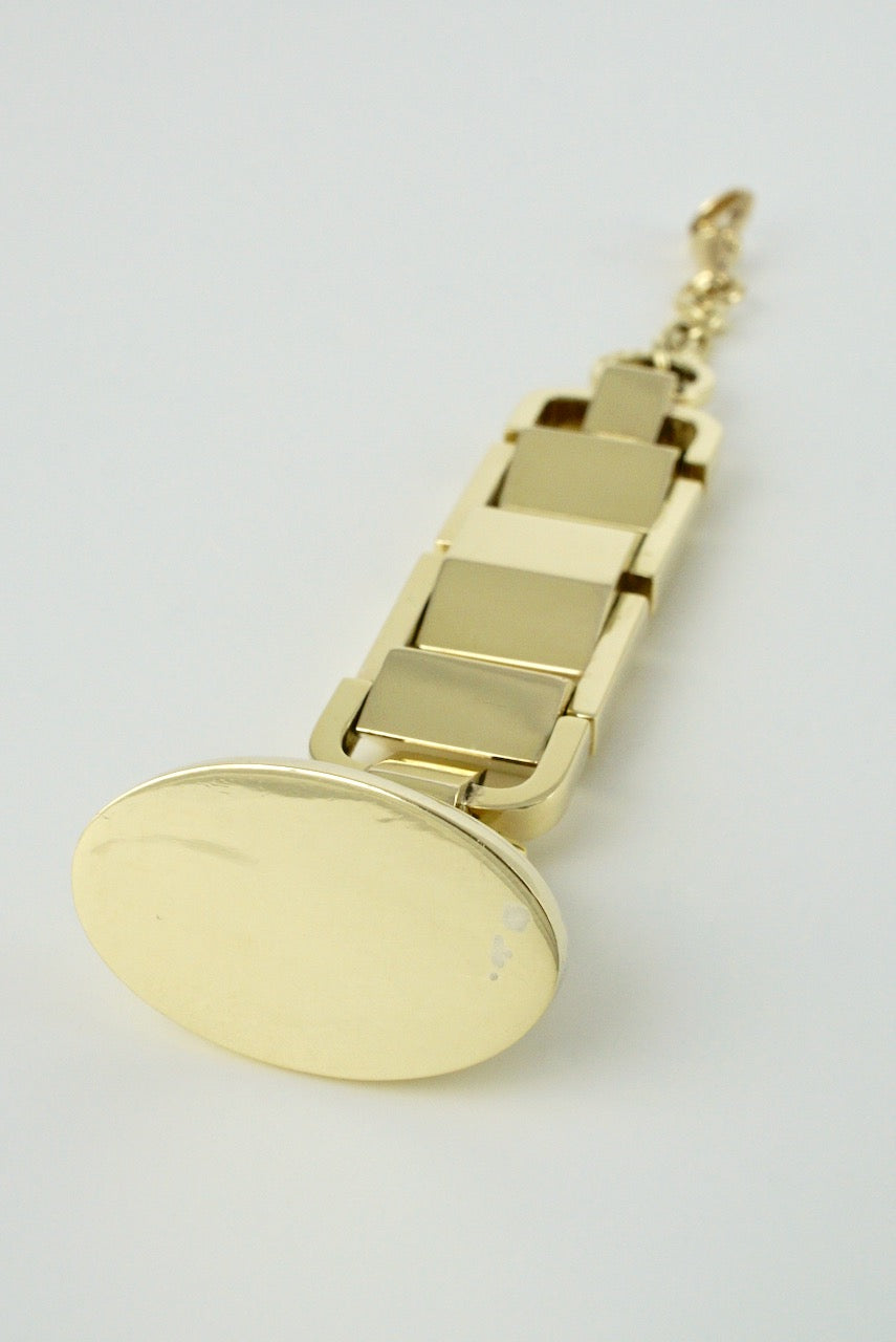 Vintage Art Deco 14k Yellow Gold Watch Fob