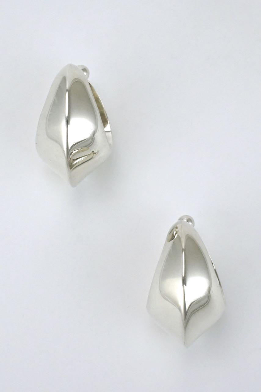 Georg Jensen silver ear slings - design 126