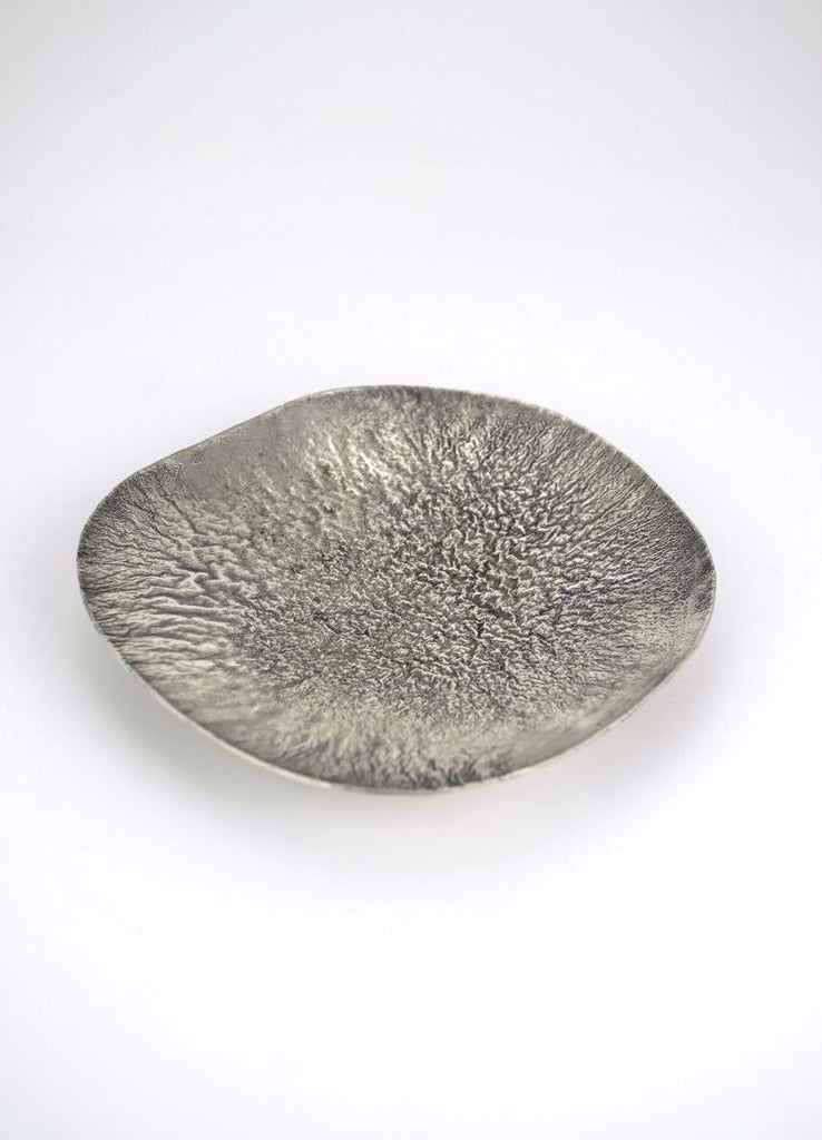 Swedish WA Bolin silver samorodok dish 1950s