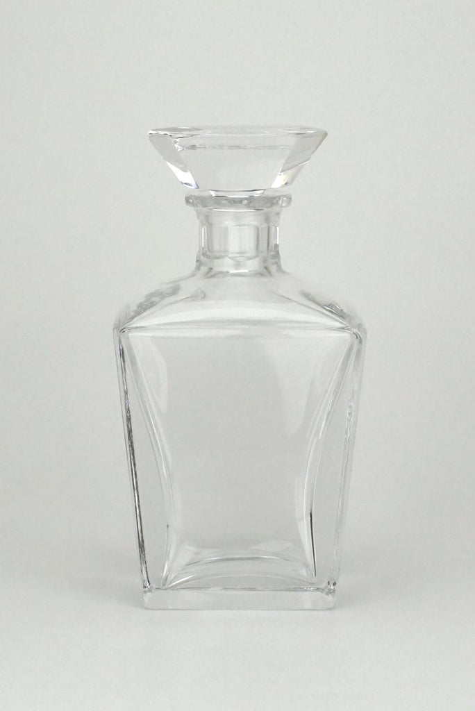 Orrefors clear crystal flacon shape decanter - Edvard Hald