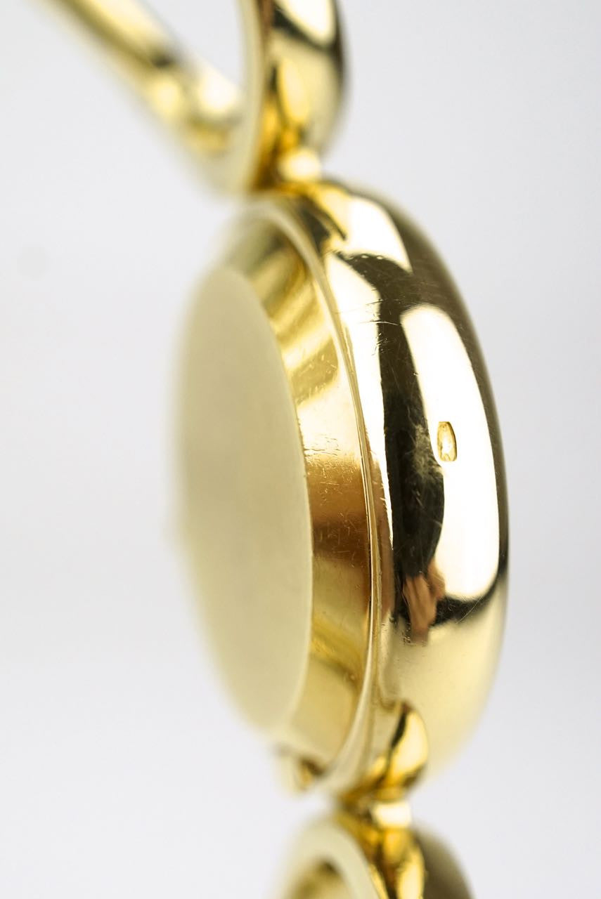 Chopard 18k yellow gold ladies bracelet watch 1970s