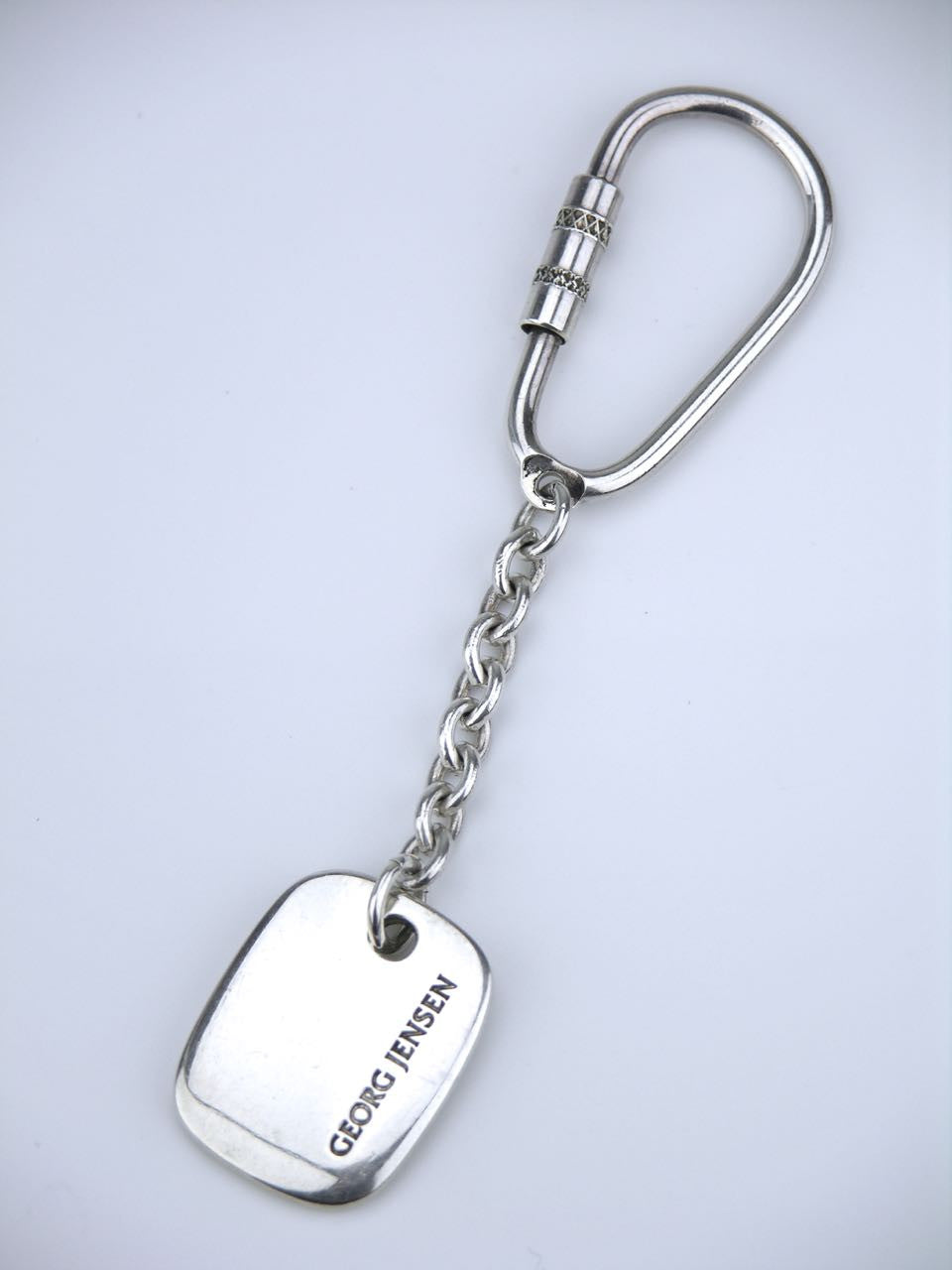 Georg Jensen silver key ring - design number 173