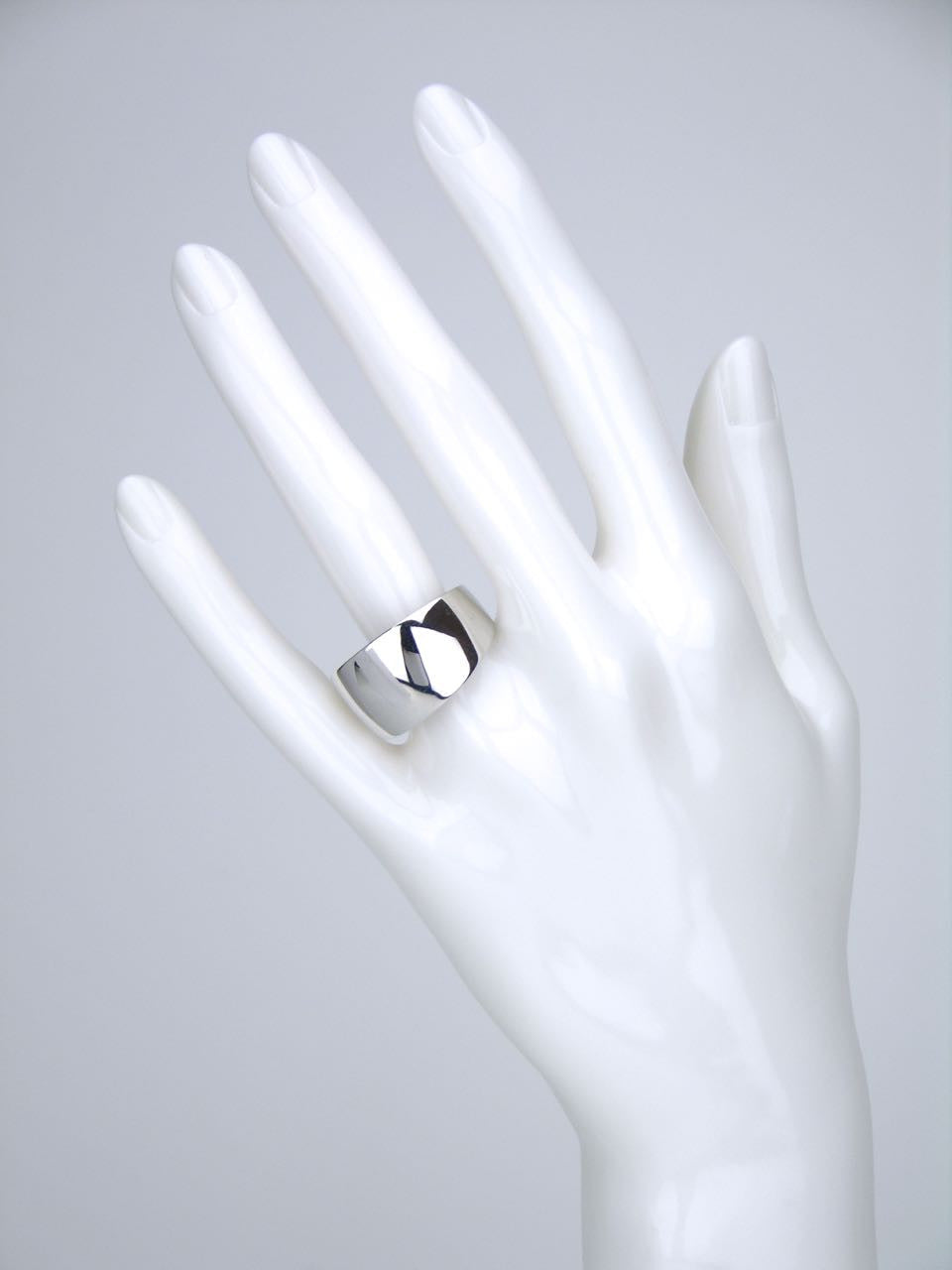 Tone Vigeland silver double layer ring