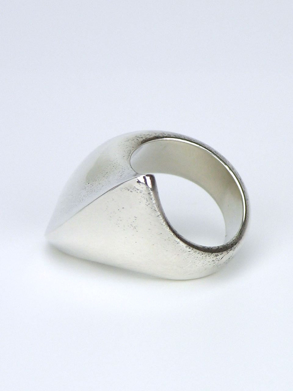 Georg Jensen silver amorphic ring - design 91