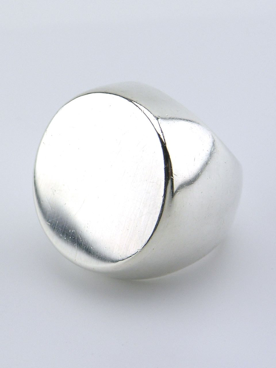 Hans Hansen silver heavy dot ring