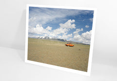 PRINT: Road Trip, Altai Mountains, Russia 2005 by Simon Roberts - Ltd Edition Fundraising Print