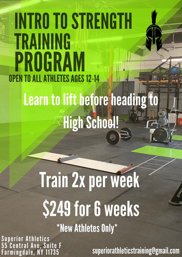 Intro to Strength Training Program