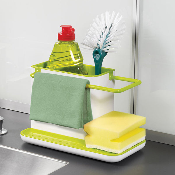 Plastic Kitchen Caddy Organizer Storage Sink Tray Holder