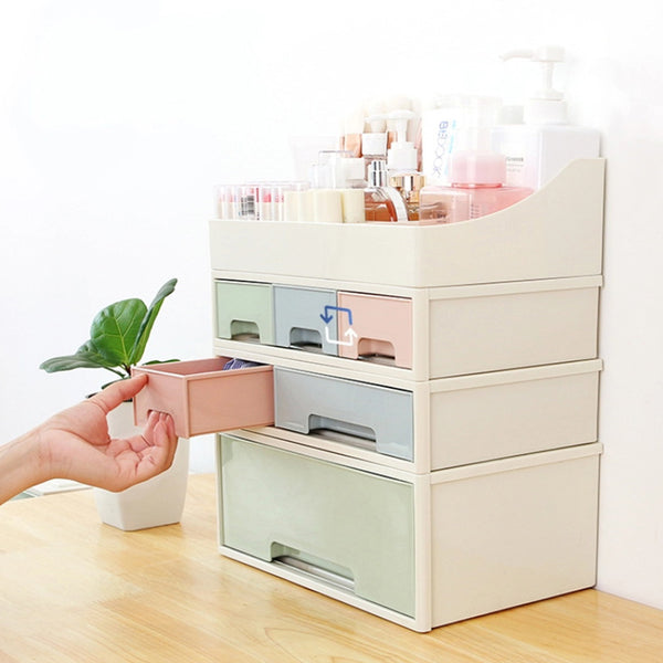 Cosmetic Drawer Makeup Organizer Storage Box