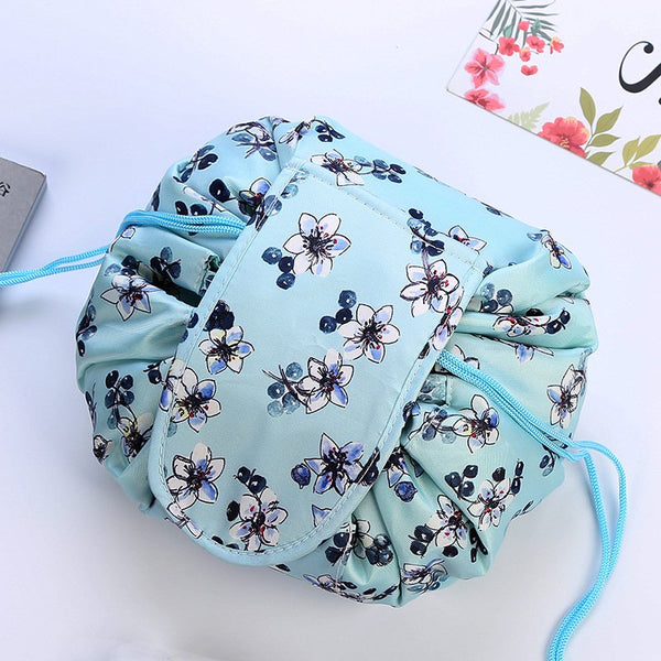 Magic Lazy Cosmetic Makeup Bag Drawstring Waterproof