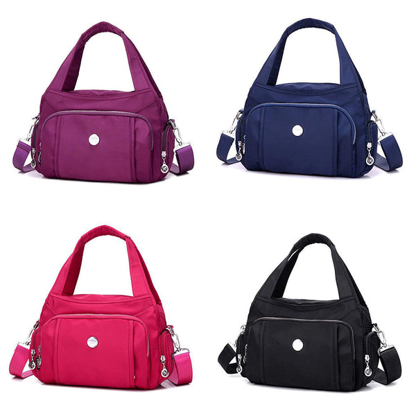 Women Waterproof Nylon Handbag Crossbody Bag