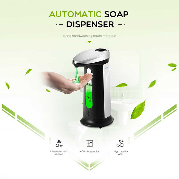 Automatic IR Sensor Hands-Free Soap Dispenser Touchless for Kitchen Bathroom