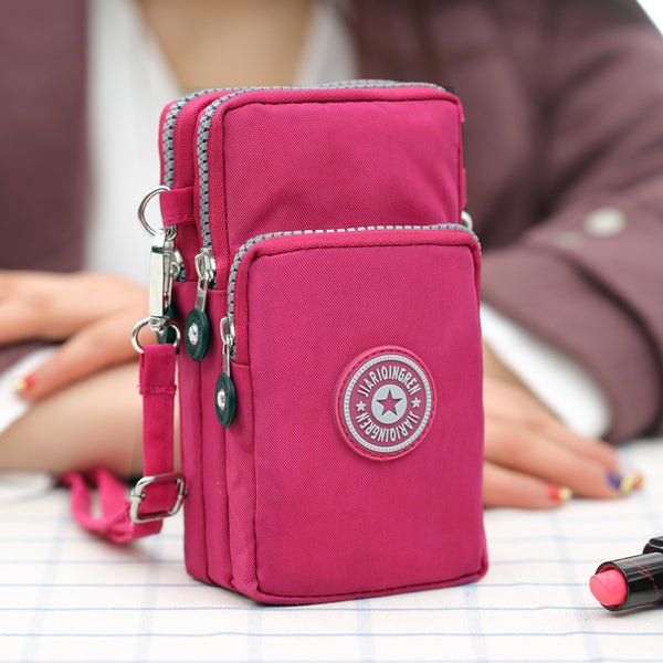 Cellphone Crossbody Shoulder Bag Small Pouch Waterproof Wallet