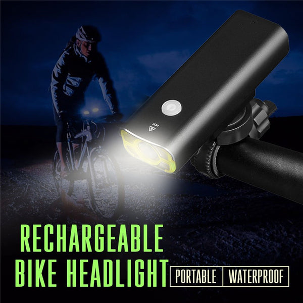 Super Bright Waterproof Rechargeable Bicycle Light