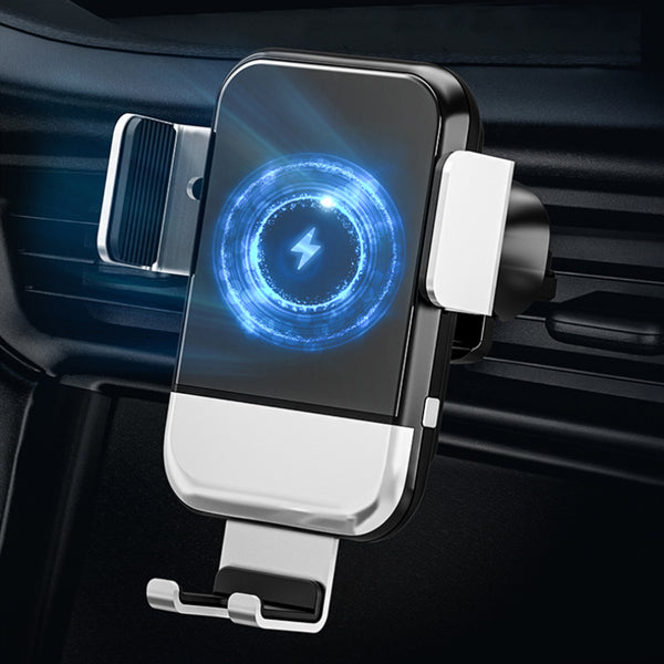 Auto-Clamping Qi Fast Wireless Car Charger Mount