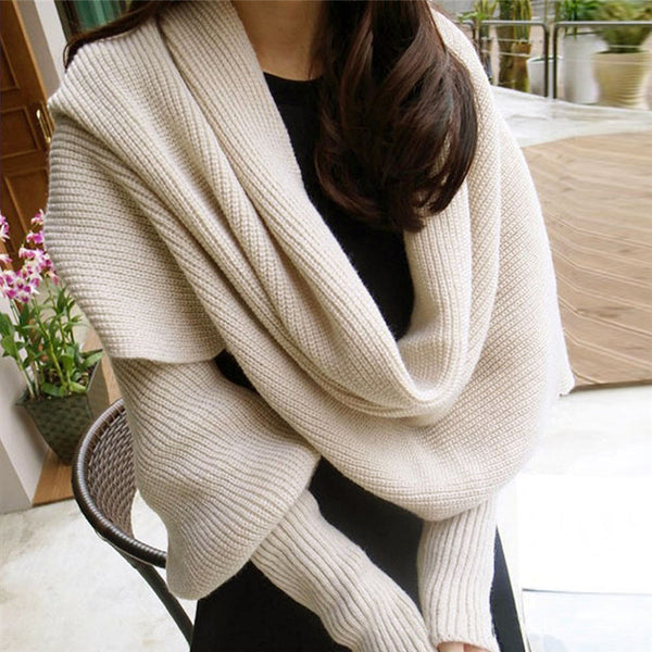 Large Scarf Scarves Coat