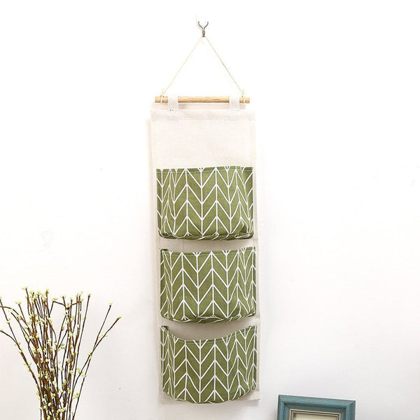 Wall Suspension type Storage Bag Bedroom Sundries Organizer