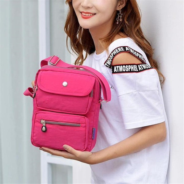 SUPER Compact Nylon Shoulder Bag